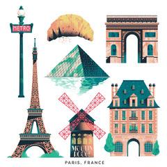Paris Sticker Pack France