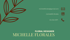 MICHELLE FLORALES  Green