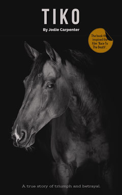 Black Horse Kindle Cover  Black And White