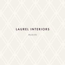 Black and White Modern Interior Design Company Logo Logo