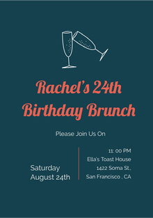 Rachel's 24th Birthday Brunch