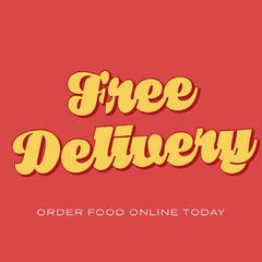 free delivery instagram  Restaurants