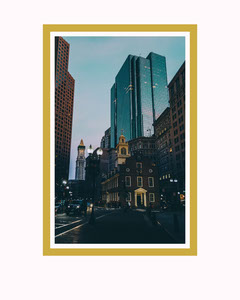 Boston Instagram Portrait Sunset