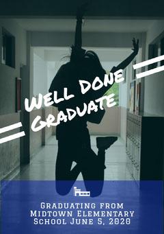 Well Done Graduate Graduation