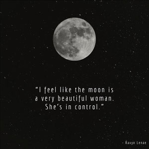Black and White Moon Quote Instagram Graphic Mensajes de buenas noches