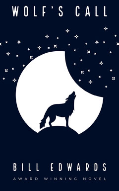 Wolf Kindle Cover  Moon
