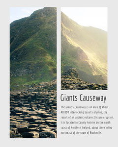 Giants Causeway Instagram Portrait Travel