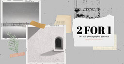 Gray 2 For 1 Photography Presets Collage Scrapbook Facebook Post