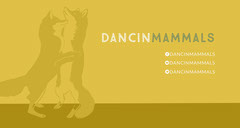 Yellow Twitch Banner with Foxes Animal