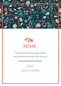 MOM,  Birthday Cards for Mother