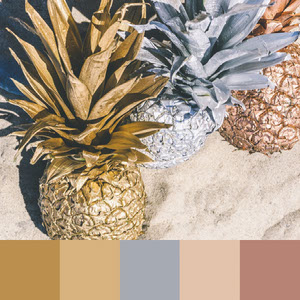 Color Palettes | Metallic 2 101 Brilliant Color Combos