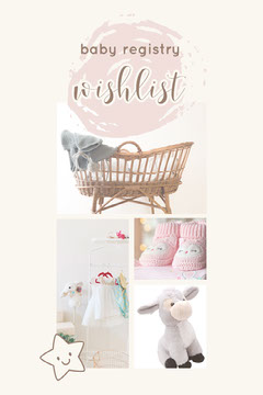Pink and White Baby Wishlist Pinterest Baby's First Year
