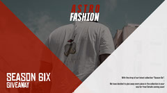 Astro Fashion Twitter Post Clothing