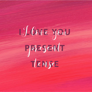 Pink and White Sentence Instagram Graphic Valentinstagskarte