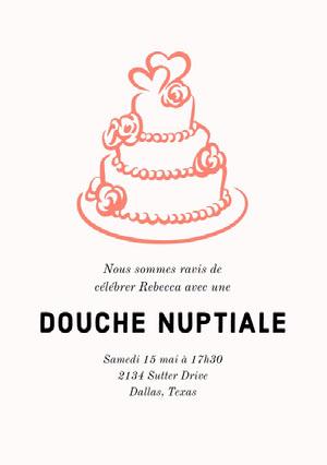 DOUCHE NUPTIALE