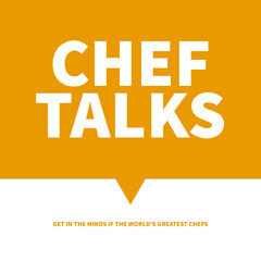 Yellow and White Chef Podcast Ad Instagram Post Chef