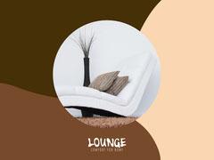 Neutral Beige Lounge Interior Facebook Shop  Decor
