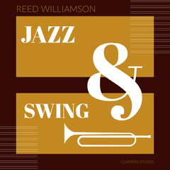 White and Brown Jazz Album Cover Jazz