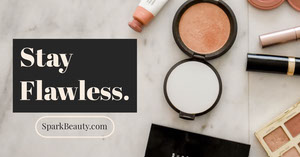 Beauty and Cosmetic Product Facebook Ad Makeup Business Card Templates