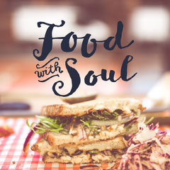 Food with Soul Instagram Square Social Post Cooking