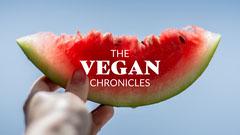 Blue Watermelon Vegan Youtube Channel Art Vegan
