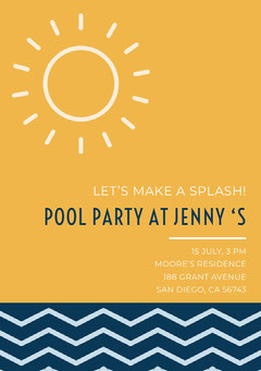 POOL PARTY AT JENNY 'S Wave