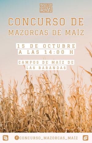 corn maze contest event poster  Cartel de evento