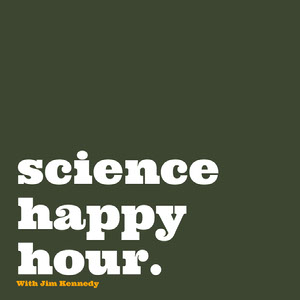 Dark Green and White Podcast Cover Instagram Story  Happy Hour Invitations