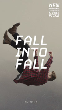 Fall into fall Photo de produit Amazon