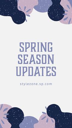 Spring Season Updates Instagram Story  Spring