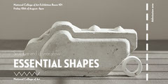 Grey Sculpture Shapes End of Year Show Graduate Exhibition Eventbrite Shows