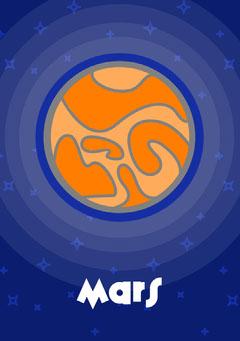 Planets - Mars Flashcard Education