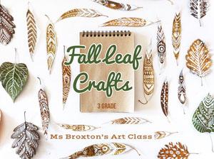 Brown and Green Autumn Crafts Presentation Slide Presentation
