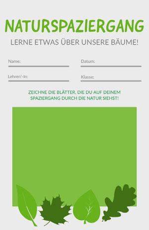 nature walk worksheet  Arbeitsblatt