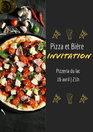 Invitation Invitation à une fête