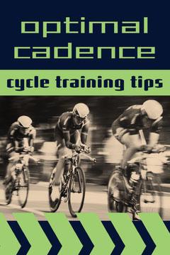 Green Optimal Cadence Cycle Training Tips Pinterest Posts Bike