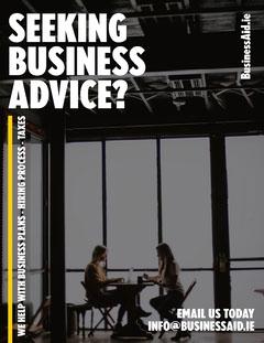 Dark Grey Building Business Aid A4 Agency