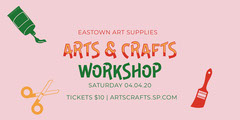 arts crafts workshop eventbrite  Workshop