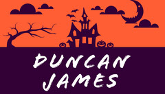 Haunted House Halloween Party Place Card Halloween Party Place Card