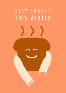 Stay Toasty Winter Card Cartões