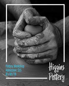 Higgins Pottery Workshop Instagram Portrait Workshop