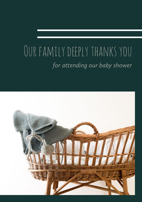 Our family deeply thanks you