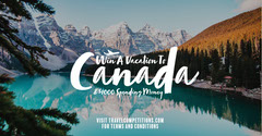 Mountain Lake Vacation in Canada Facebook Vacation