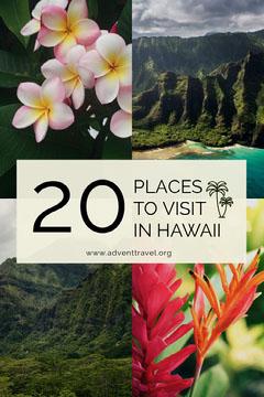 Hawaii travel Pinterest ad  Vacation