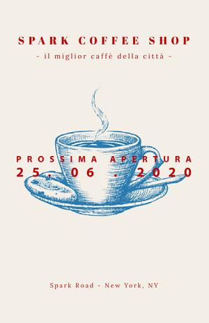 SPARK COFFEE SHOP Locandina