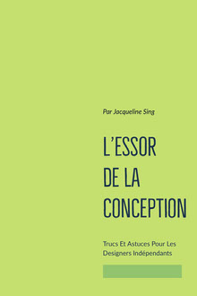 design entrepreneurship book covers copy Couverture de livre