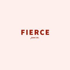 FIERCE Typography