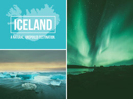 ICELAND Photo Collage