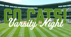GO CATS! Game Night Flyer