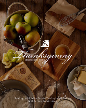 Warm Toned Thanksgiving Recipes and Tips Instagram Portrait Resepti